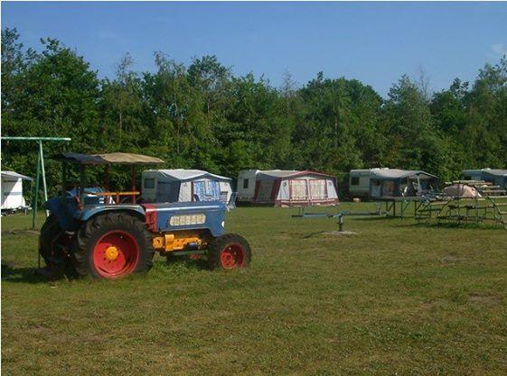 Boerderij-camping