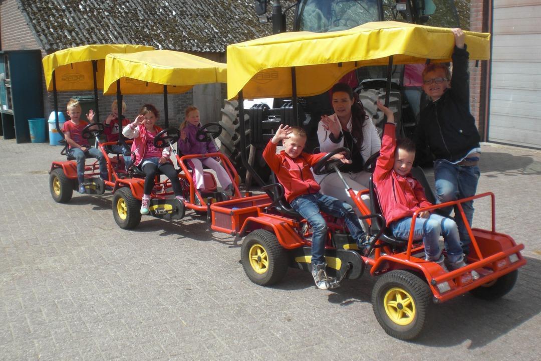 Kinderfeestjes op de boerderij